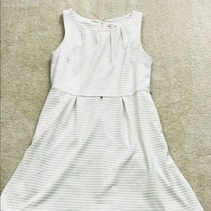 Merona sleeveless striped dress